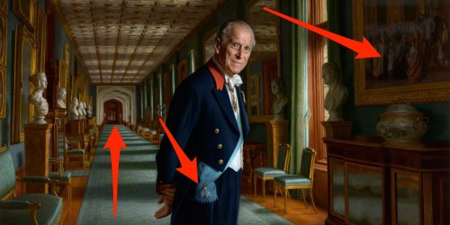 The artist behind Prince Philip's final portrait reveals 3 hidden details in the painting — and what they mean