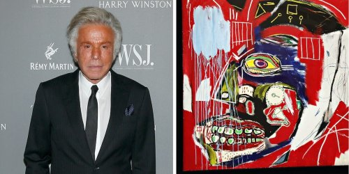 The former chairman of Valentino just sold a Basquiat skull painting at auction for $93.1 million — $40 million more than it was expected to go for