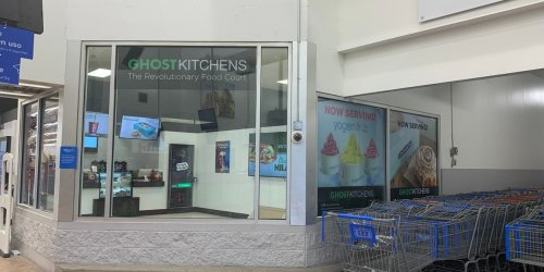 I tried Ghost Kitchens' first US restaurant inside a Walmart, and I think it's the perfect model for a fast-food world wracked by the labor shortage