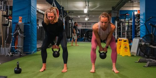 I trained with kettlebell experts and learned I was using the weights all wrong. Here are 3 of my mistakes and how I fixed them.