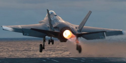The Marine Corps just beat the Navy and Air Force to the latest F-35 milestone