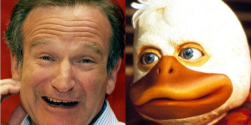 Robin Williams quit 'Howard the Duck' after a week due to an 'insane' voiceover process