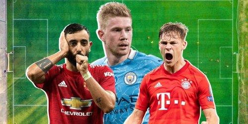 The 10 best midfielders in world soccer right now