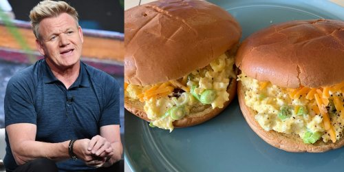 I tried Gordon Ramsay's perfect breakfast sandwich, and it was the best egg dish I've ever made