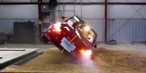 Why Tesla's Model Y received a 5-star crash-test rating