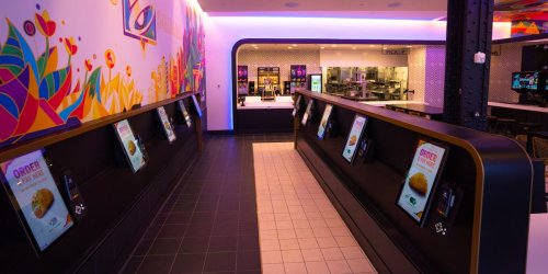 Taco Bell is opening a futuristic restaurant in one of Times Square's oldest buildings. It's filled with food lockers and digital kiosks: take a look inside.