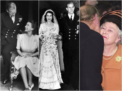 20 photos show how Prince Philip's relationship with the Queen changed through the years