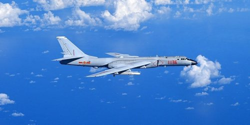 China conducted an aerial bombing drill after the US and Japan put out a statement on Taiwan