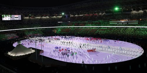 An Olympic opening ceremony musician said he was dropped from the event just because he is Black