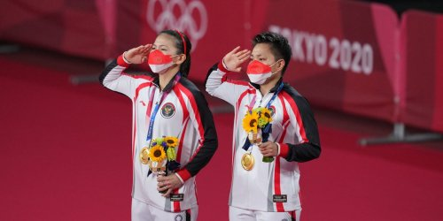 2 Indonesian athletes were showered with gifts of cash, cows, a house, and a meatball restaurant after winning gold at the Olympics