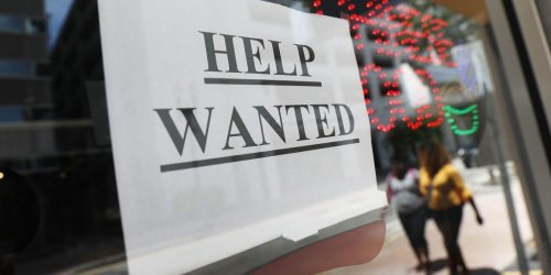 A discount store in Maine is closing after losing half its staff. Despite a 'help wanted' sign in the window, only 5 people applied for a job in 6 months, its owner said.