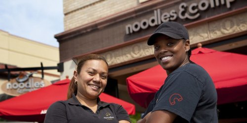 Gender-neutral bathrooms became a flashpoint at Noodles & Company after a GOP lawmaker called the inclusive stalls 'stupid' on Facebook. The chain's CFO and VP of human resources outline why its progressive policies and benefits attract a strong workforce.
