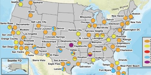 A new DEA map shows where cartels have influence in the US. Cartel operatives say 'it's bulls---'
