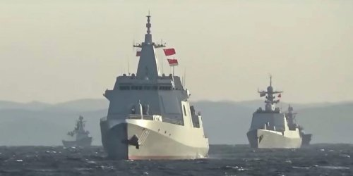 China and Russia send message to Japan and US with first-of-its-kind transit by warships