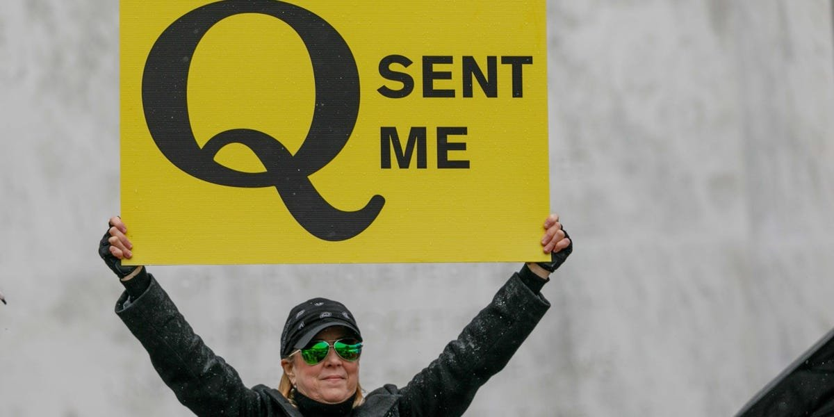 Trump's description of QAnon as being 'against pedophilia' follows its insidious takeover of the 'Save the Children' movement