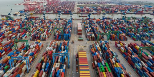 Your Christmas shopping this year could be held up by a staggering shipping backlog in China's southern ports