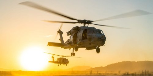 The US Navy has its own helicopter squadron dedicated to supporting special-operations missions