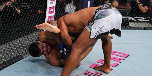 UFC fighter Andre Muniz snaps MMA legend Ronaldo Souza's arm with an unforgettable but brutal submission