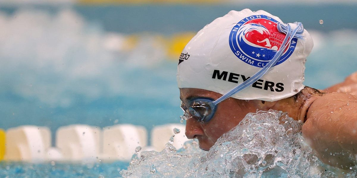 A deaf-blind swimmer pulled out of the Olympics because her mother – who doubles as her caretaker – is not allowed to travel with her
