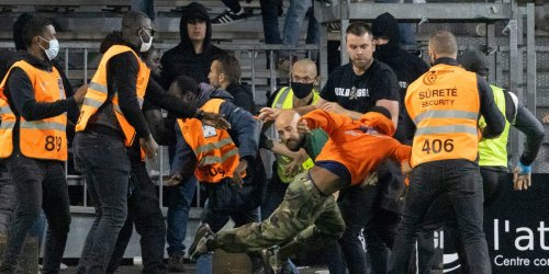 A wild night of on-pitch fights, wonder goals, and fan brawls unfolded in France's top soccer league