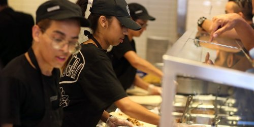 Companies like Chipotle are boosting prices, but CEOs multimillion dollar pay packages aren't getting any smaller