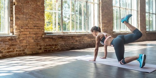 Simple exercises to get a peachy, plump butt without using weights or gym equipment