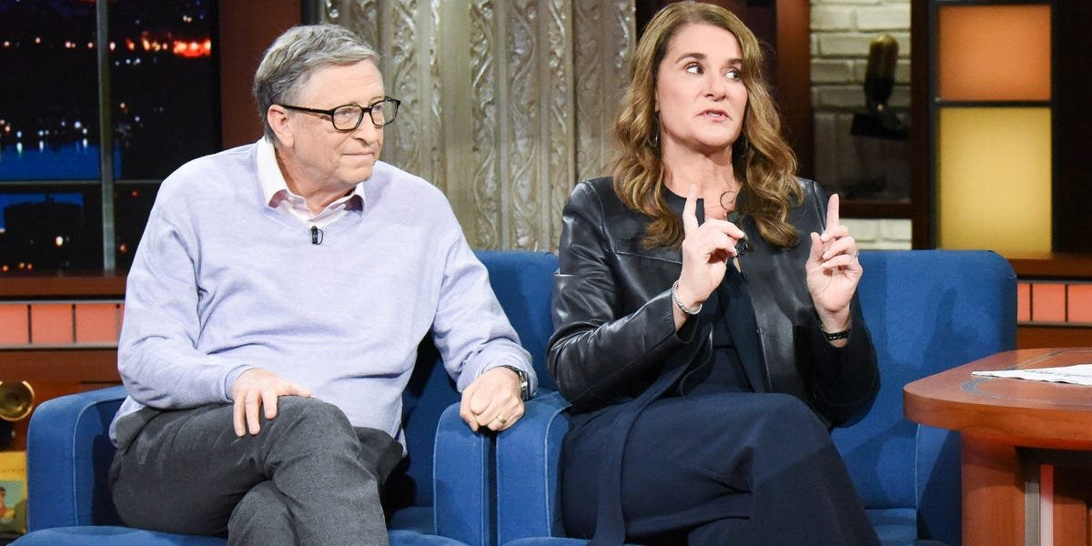 The Fallout from Bill and Melinda Gates' Divorce - cover