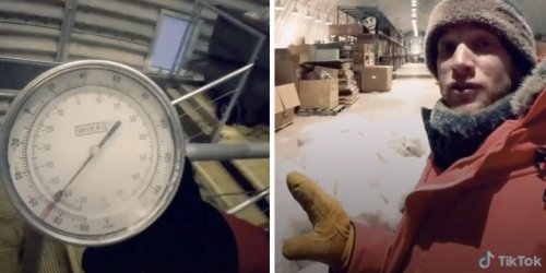 An exhausting TikTok reveals what it's like to take out the trash in the South Pole, where it's dark for six months of the year and temperatures can reach 70 degrees below zero