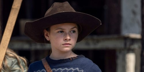 'The Walking Dead' star on Sunday's episode, the 'mixed feelings' she has on the show ending, and her hopes to return to the Marvel Cinematic Universe