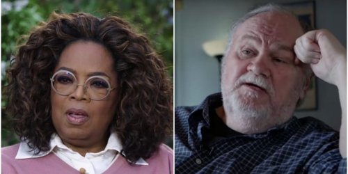 Thomas Markle says Oprah Winfrey is 'using' Prince Harry and Meghan Markle