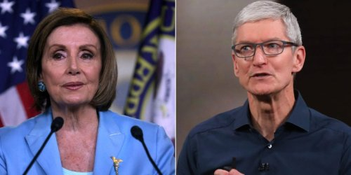 Apple CEO Tim Cook personally rang Nancy Pelosi to ask her to slow down 6 tech antitrust bills, according to a report