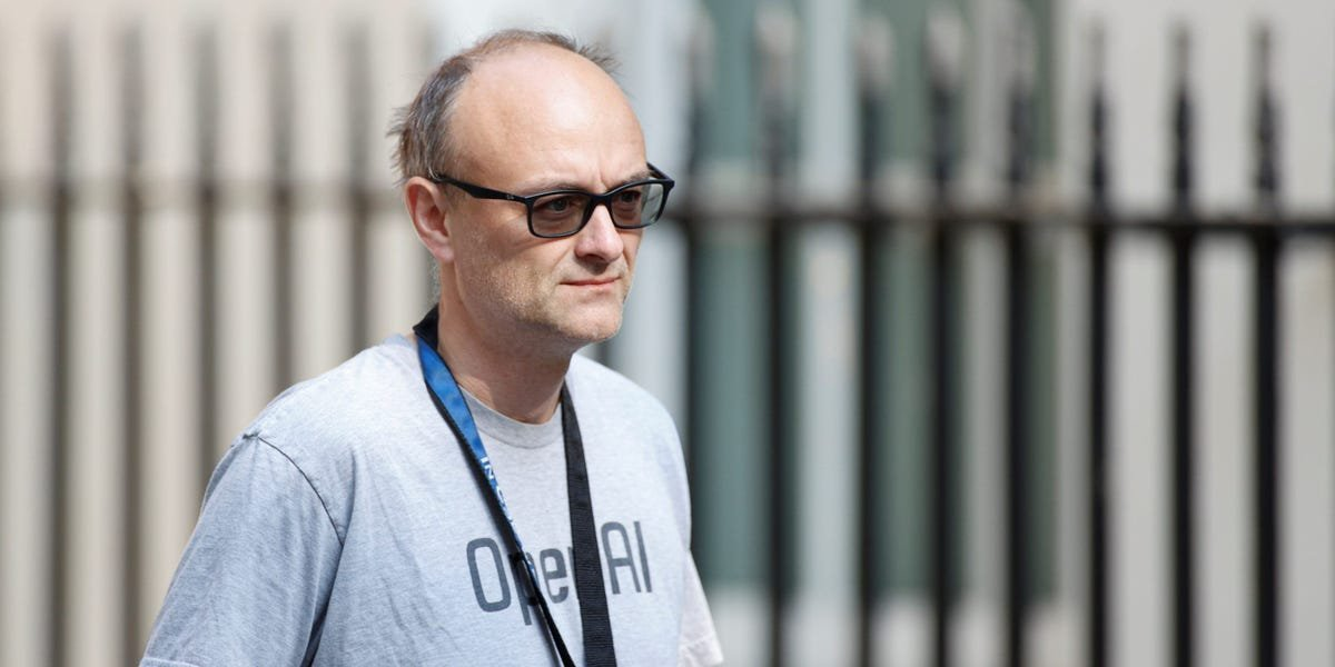 Inside Dominic Cummings' wild scheme to build a British Google via a no-deal Brexit: 'It's a bit of a simplistic way of thinking about technology'