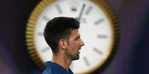 A journeyman tennis star who thrashed Novak Djokovic said he was spurred to win because the World No.1 showed up late