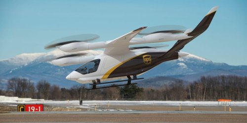 UPS reveals plan to buy hundreds of eVTOLs that can fly up to 250 miles to deliver packages — take a look