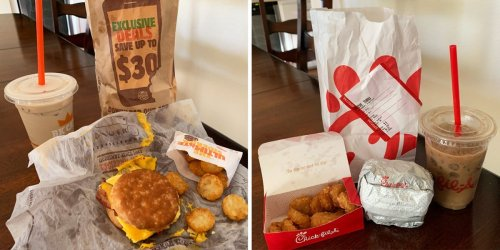 I ordered the same breakfast from 5 fast-food chains and ranked them all from worst to best