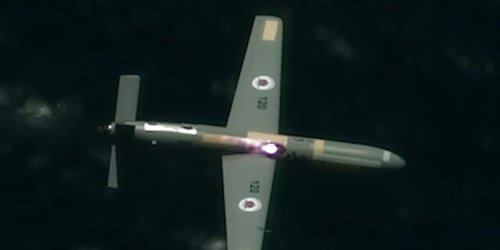 Watch this plane shoot down drones with a high-powered laser in a first-of-its-kind Israeli military test
