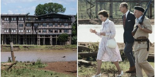 Kenya's oldest safari lodge, where a young Princess Elizabeth became Queen, has closed permanently due to the pandemic