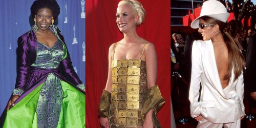 The most daring Oscars red carpet outfits from the past 50 years