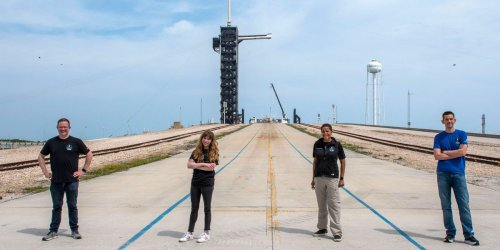 The two final crew members who will orbit Earth on a SpaceX ship, as part of the all-civilian Inspiration4 mission, have been revealed
