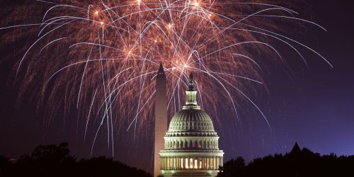 Biden is hosting a July 4th 'independence from virus' celebration although the US is on track to narrowly miss his vaccination goal