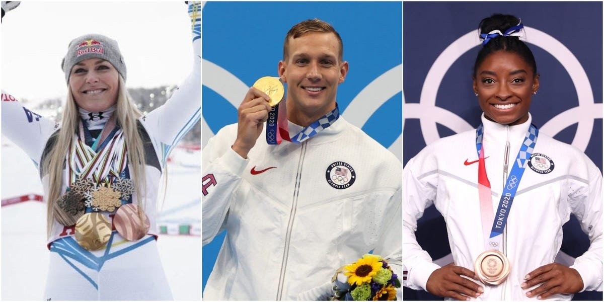 The most famous Olympian from every state