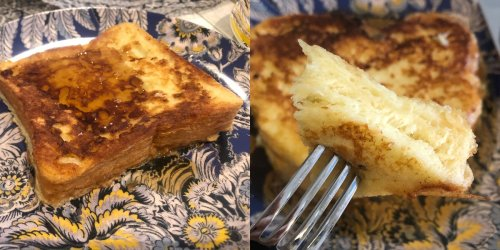 I tried a popular trick for making perfect French toast, and it's almost foolproof
