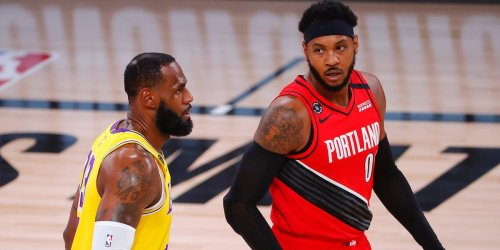 LeBron James and Carmelo Anthony are now teammates 19 years after a fateful meeting before a high school basketball game
