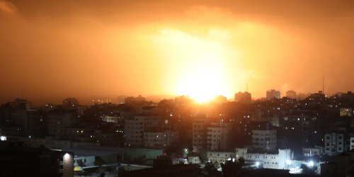 May 10: 20 Palestinians including 9 children were killed by Israeli airstrikes in Gaza after days of clashes in Jerusalem