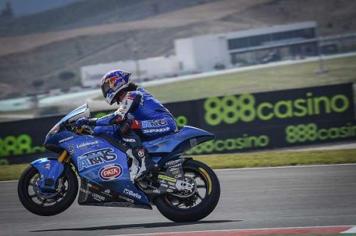 Moto2: Roberts reigns the rollercoaster on Friday