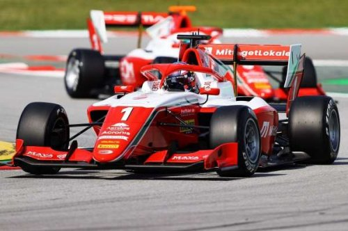 Hauger leads Martins as Prema start the season on top in Barcelona