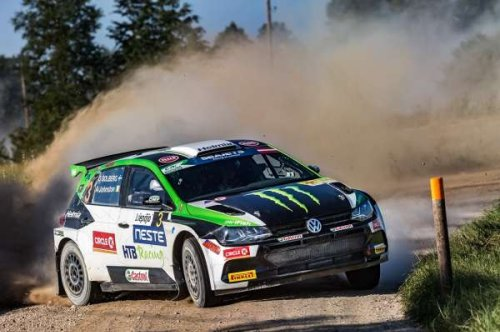ERC Rally Liepaja: History-maker repeating as Solberg, 18, tops lead battle