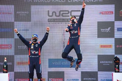 Tanak triumphs in Estonia to put himself back into title contention