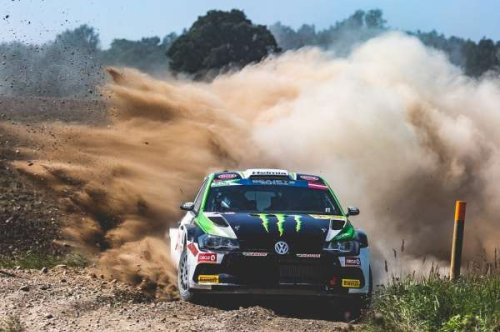 ERC Rally Liepaja: Teenage talent Solberg doubles up in Latvia