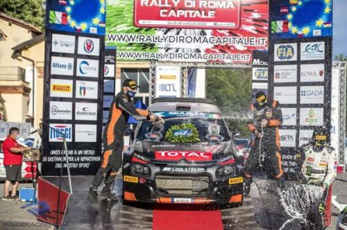 Victory over Basso in Italy is Lukyanuk's 10th in ERC as Solberg makes it two ERC1 Junior wins